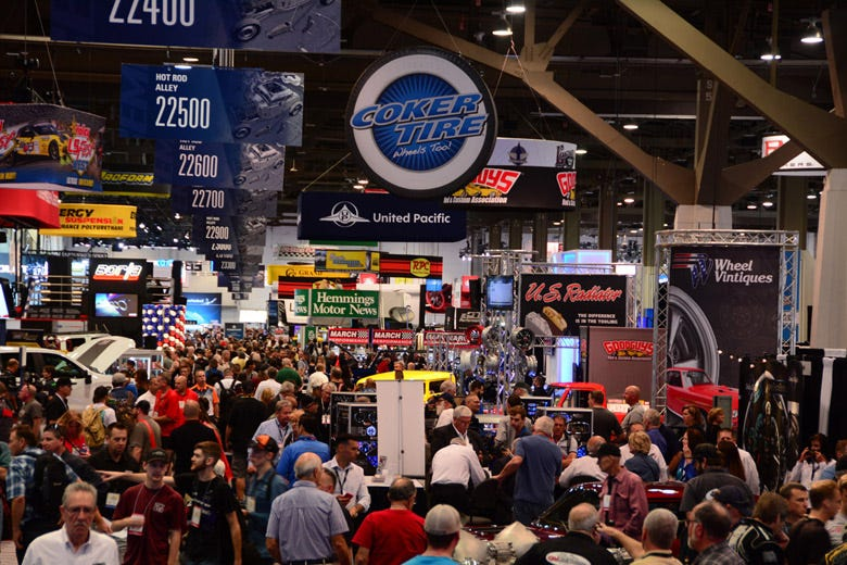Coker Equipped at the 2018 SEMA Show