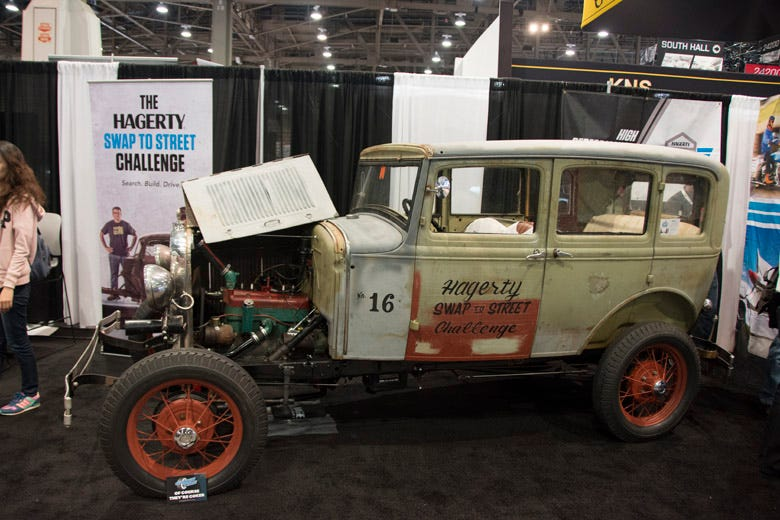 The Hagerty Swap to Street Model A Project Makes it to the SEMA Show