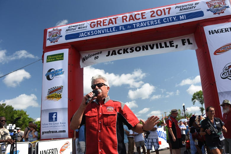 Straight and Narrow -- Day 1 of the 2017 Great Race