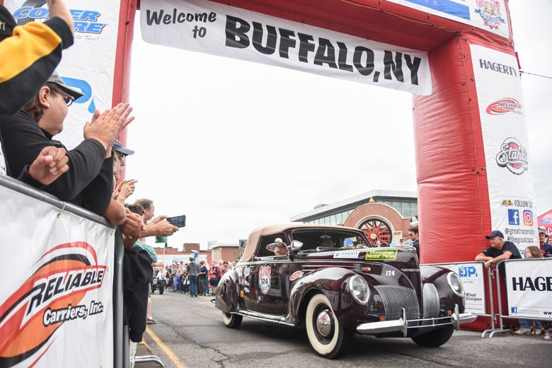 The 2018 Great Race Takes off from Buffalo, New York